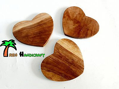 Coaster love kayu jati